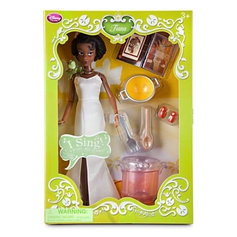 Кукла Тиана поющая от Дисней. Disney Store, США.