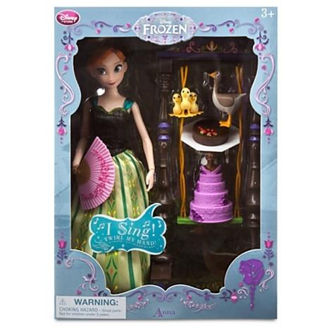 Кукла принцесса Анна поющая из мультфильма Холодное сердце Дисней. Disney Store, США.