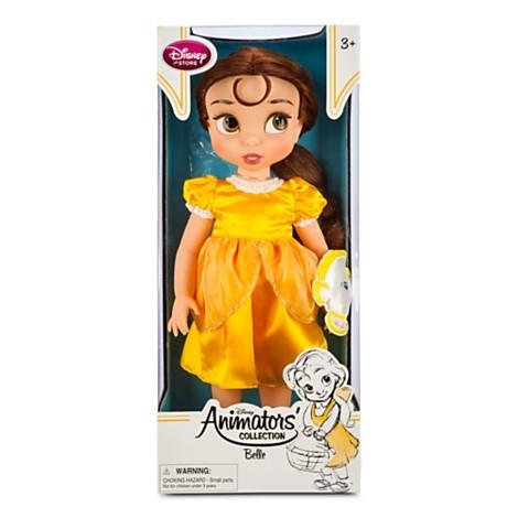 Кукла малышка Белль из мультфильма Дисней Красавица и Чудовище в детстве. Disney Store, США.