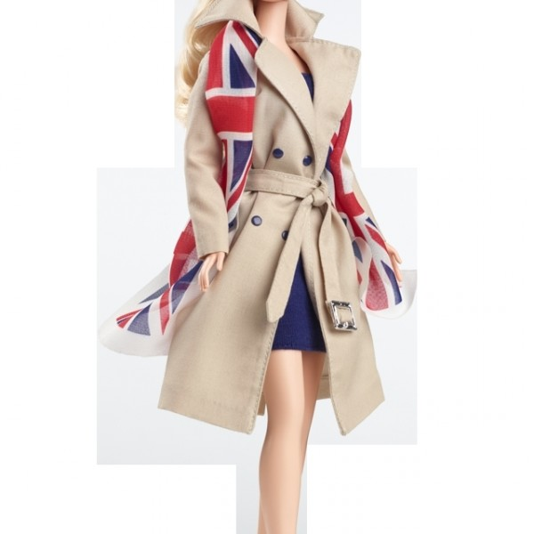 Коллекционная кукла Барби Соединенное Королевство - United Kingdom Barbie Doll. Mattel, США.