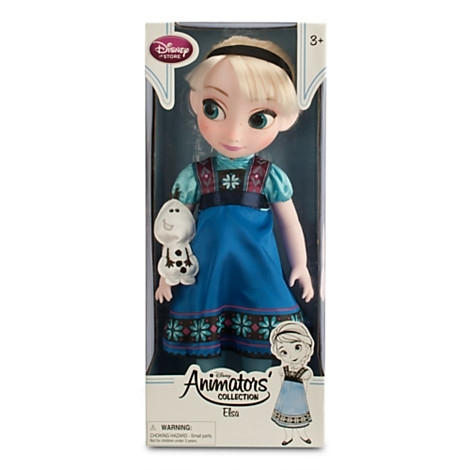 Кукла малышка принцесса Эльза из м/ф Холодное сердце-Frozen. Disney Store, США.