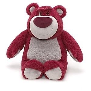 Мишка Лотсо История игрушек 3, мягкая игрушка с ароматом клубники. Disney Store, США.