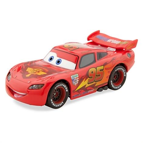 Машинка Молния Маккуин из мультфильма Тачки. Disney Store, США.