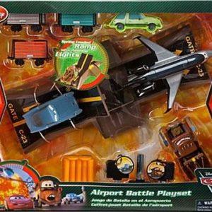 Игровой набор Битва в аэропорту, Тачки 2, Дисней. Disney Store, США.
