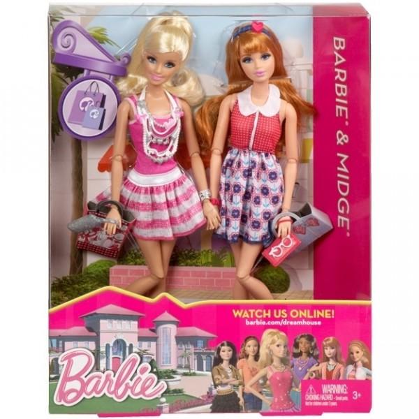 Набор кукол Барби и Мидж из Дома мечты. Mattel, США.