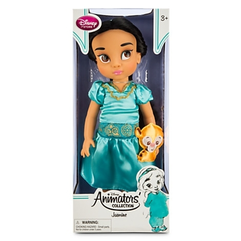 Кукла малышка Жасмин из мультфильма Аладдин от Дисней. Disney Store, США.