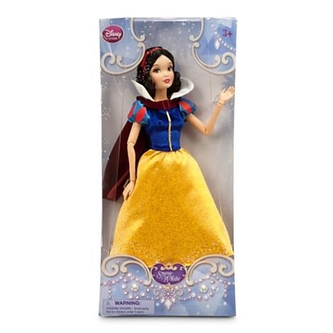 Кукла принцесса Белоснежка классическая из мультфильма Белоснежка от Дисней. Disney Store, США.
