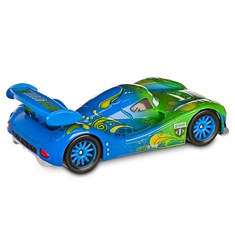 Машинка Карла Велосо (Карла Гоньяло) из мультфильма Тачки 2 Дисней, Disney Store