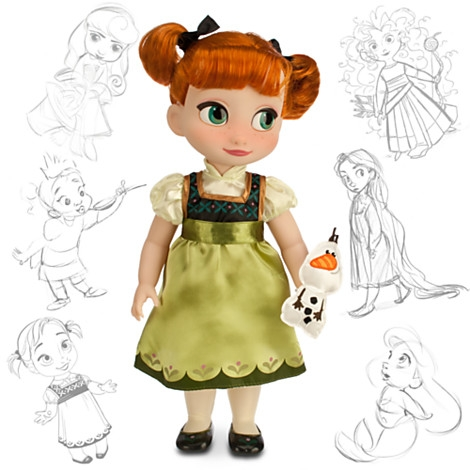 купить куклу малышку Анну