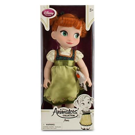Кукла малышка принцесса Анна из мультфильма Холодное сердце Дисней Anna from Frozen Toddler Doll. Disney Store, США.