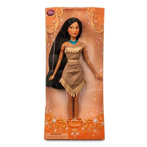 Кукла Покахонтас