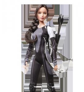 Коллекционная кукла Барби Голодные Игры : И вспыхнет Пламя - Китнисс
