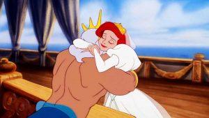 Ариэль и Король - Русалочка