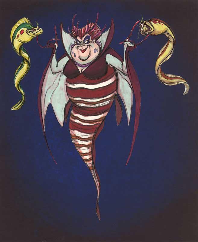 Урсула - рыба-скорпион - Русалочка