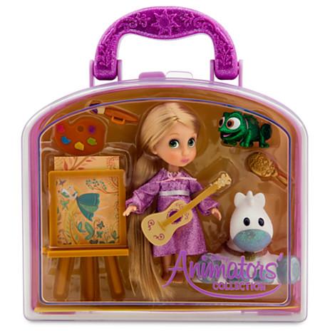 Мини кукла Рапунцель набор игровой с аксессуарами. Коллекция Аниматорс Дисней, Disney Store,США.