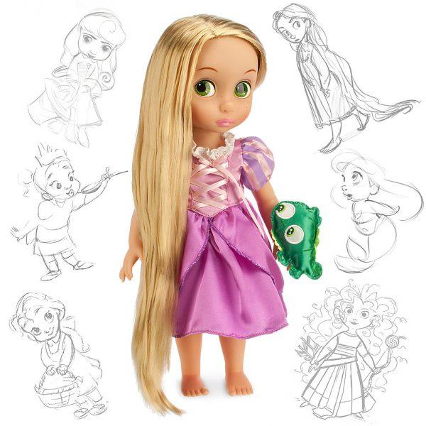 Кукла малышка Рапунцель с Паскалем